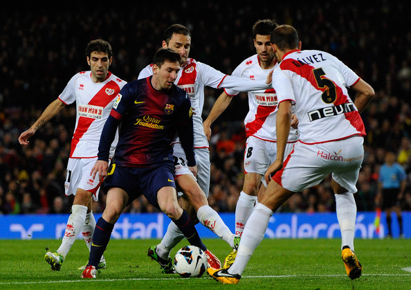 Lionel Messi vs Rayo Vallecano