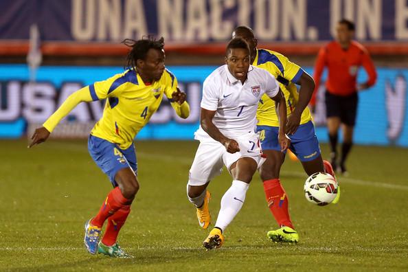 Joe Gyau vs Ecuador