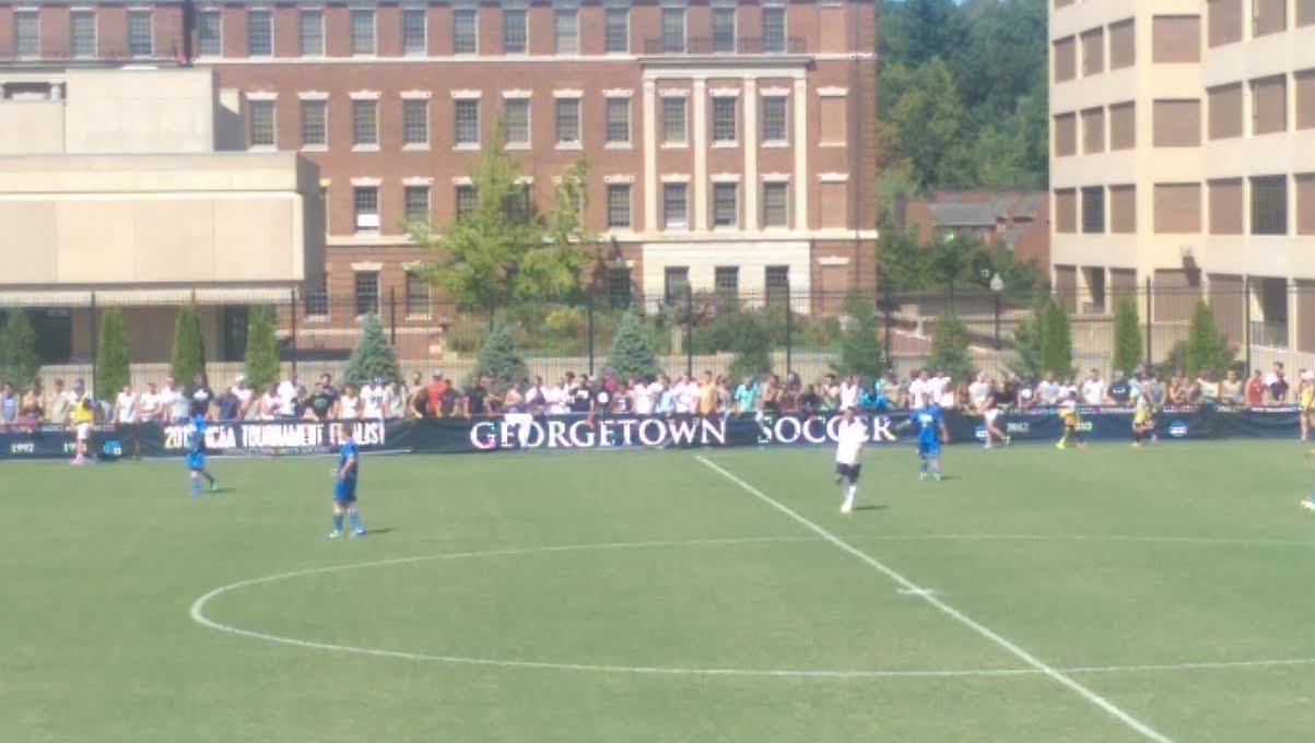 Georgetown soccer fans vs UCLA