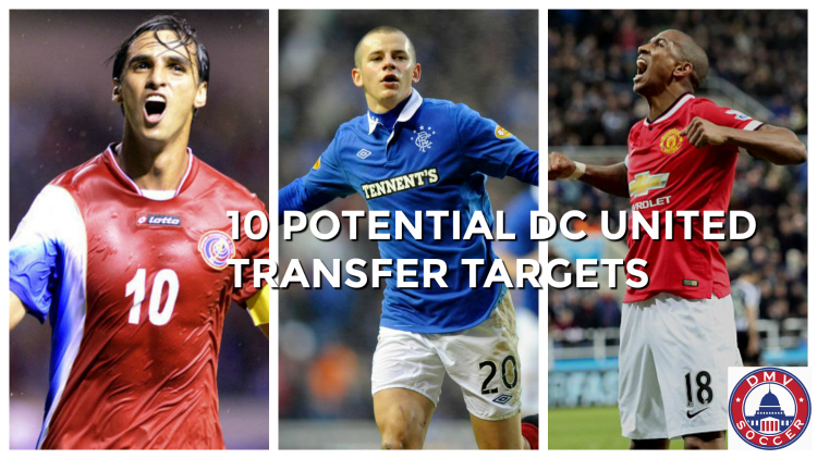 dc united transfers