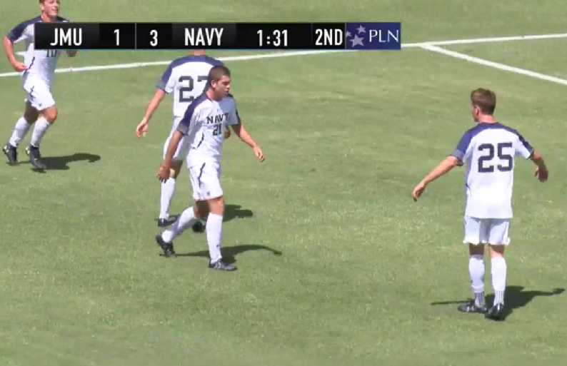 navy beat jmu