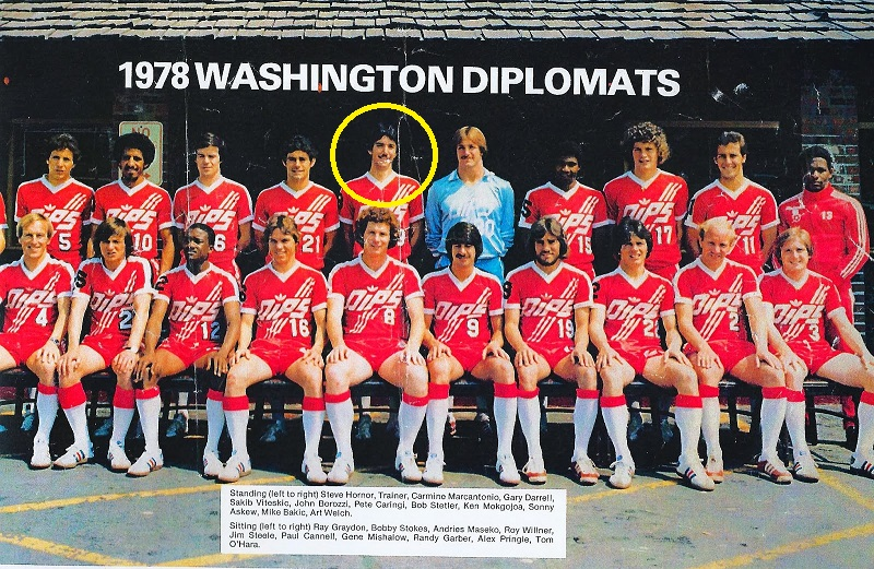Pete Caringi Washington Diplomats