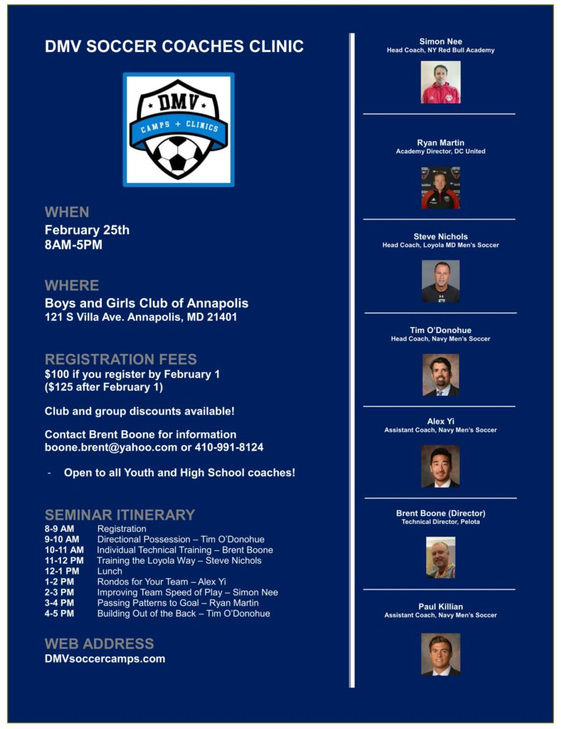 DMV Coaching Clinic
